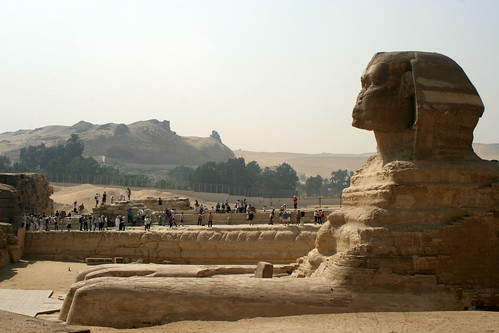 There a Chamber Beneath the Sphinx
