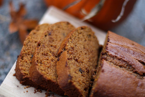 Day 306 - Chocolate Chip Pumpkin Bread