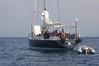 Barca a Vela - Sailboat (kikkedikikka) Tags: nikon barca italia mare lo vela capo sicilia trapani dello zingaro sanvito riserva trasporto d40 nikond40 rgspaesaggio rgscastelli rgsmare rgsnatura rgsscorci