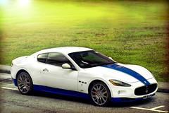 Sunlit Curves (anType) Tags: blue italy white car italian singapore asia exotic gt luxury coupe v8 mc12 maserati sportscar granturismo worldcars