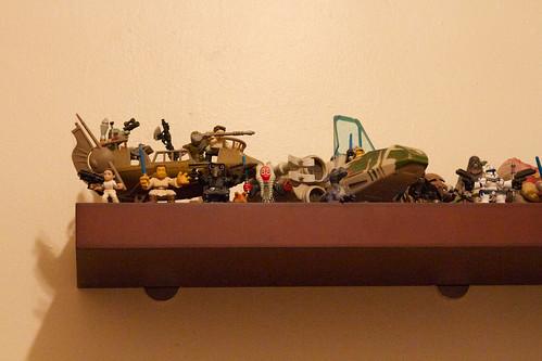 Star Wars Shelf