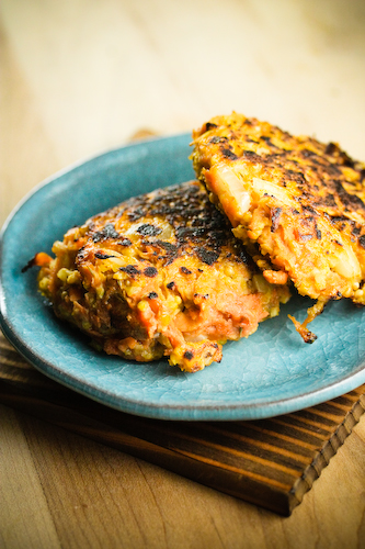 sweet potato millet patties (1 of 1)