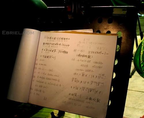 written notes
