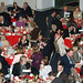 Attendees enjoy dinner at Leadership Dinner