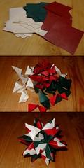 Bascetta Star Lifecycle (ebygomm) Tags: paper star origami papercraft modularorigami bascetta bascettastar