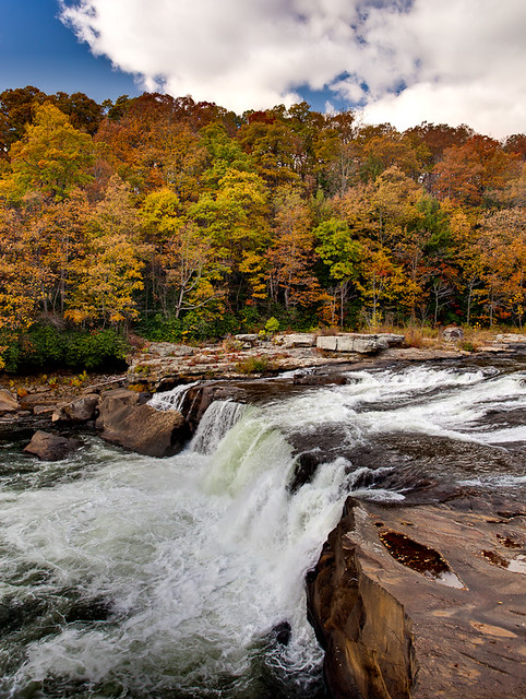 Autumn at Ohiopyle Falls