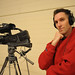 Multimedia specialist, Tom, during the 2009 Now & Then event.