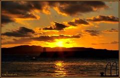 Atardecer en San Ciprian (celicom) Tags: atardecer mar lugo sanciprian costalucense amariñalucense