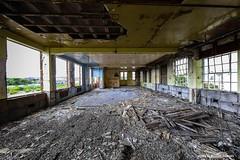 Bus Depot (john&mairi) Tags: possil possilpark bus tram depot firstgroup spte firstglasgow derelict dereliction abandoned vandalism urbex glasgow scotland