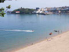 Fun by the seaside. (aitch tee) Tags: sunshine summerweather beach watersports seaside tenby dayout touristviews walesuk