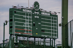 Wrigley Field Scoreboard: Tom Petty and the Heartbreakers, June 29, Sold Out (Joshua Mellin) Tags: chicago concert music summer 2017 tompetty tompettyandtheheartbreakers wrigley field wrigleyfield cubs chicagocubs baseball stadium live tour livenation livenationil livenationchicago illinois ln arena national american league nationalleague americanleague nl al umpires batters runs hits clock green steel ivy scoreboard boxscore time inninngs inninng lights chitown soldout petty tompettyrocks balls strikes mlb bright travelphotography travelphotographer blogger travelblogger travel traveling photography photographer photo pic pictures picture best photos