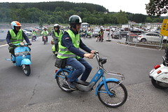 IMG_9364 (Christophe BAY) Tags: mobyltettes francorchamps 2017 rétromobile club spa circuit moto vespa camino flandria