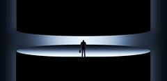opPRESSion (Corinaldesi Roberto) Tags: solitude man business press social black soul mistery oppression