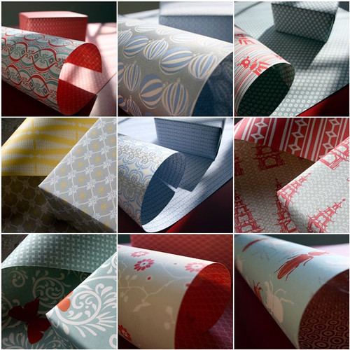 Eco Recycled Gift Wrap from Smock