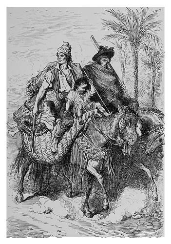 011-Campesinos del barrio de Carcagente en la Rivera Alta de Valencia-Spain (1881)- Doré Gustave