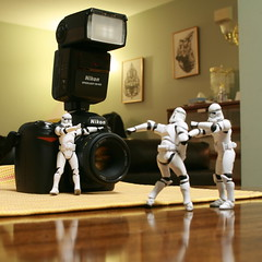 okay i want to see sweat and blood... light, camera... action (...Ashish...) Tags: actionfigure starwars nikon stormtrooper 365 starwar filmshooting clonetroopers maytheforcebewithyou clonie maythe4th stormtrooper365 maythefourthbewithme
