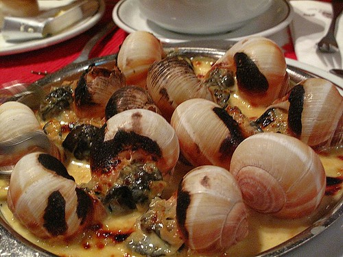 IMG_5312 Escargot with garlic sauce
