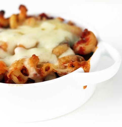 an excellent eggplant pasta