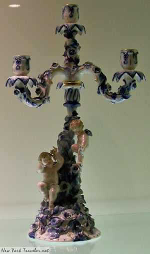 Porcelain Candlestick Germany
