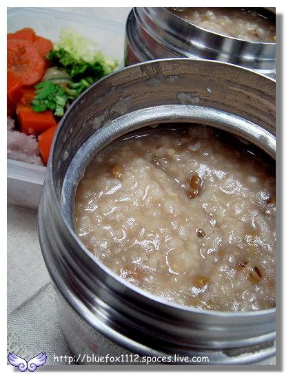 091111THERMOS Cafe08_外帶鮮蔬芋頭粥