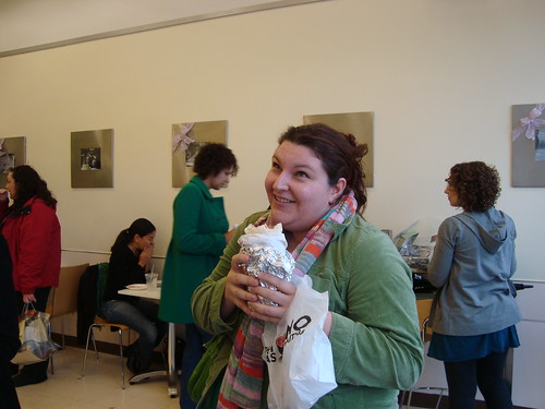 Lindsay w La Salsa Burrito