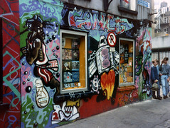 comet dublin tda klann 90'S GRAFF (wideangle07) Tags: dublin fish art paint factory belfast spray artists graff 90s drogheda dundalk tda irsh klann