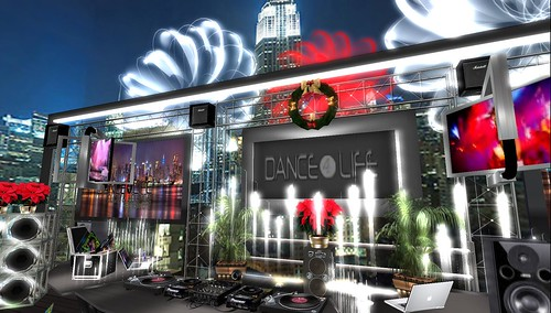 dance4life nyc in second life