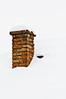 Chimney ~ Explored ~ (Sergiu Bacioiu) Tags: santa christmas xmas old roof winter red chimney house snow brick texture season fire december rustic covered claus snowfall