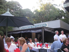 Xmas Party at Hudsons in the Botanic Gardens
