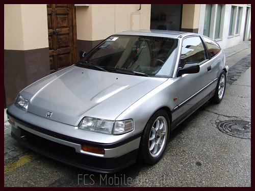 Honda CRX Gris Plata-67