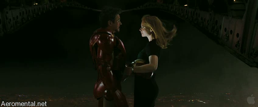 Iron Man 2 Trailer 2 Pepper Pots plane