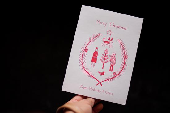 melinda josie - christmas card!