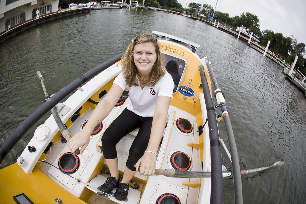 Katie Spotz, the youngest woman to row across the Atlantic