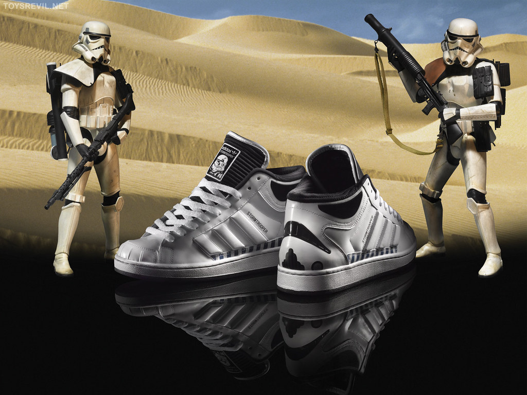 adidas Originals Death Star Superlaser Application & Wallpaper Images
