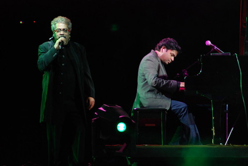 A R Rahman On The Piano For A Song By Hariharan