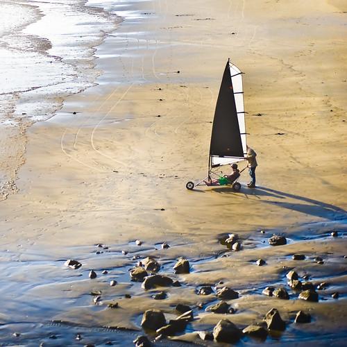 Beach Land Sailer by ►CubaGallery