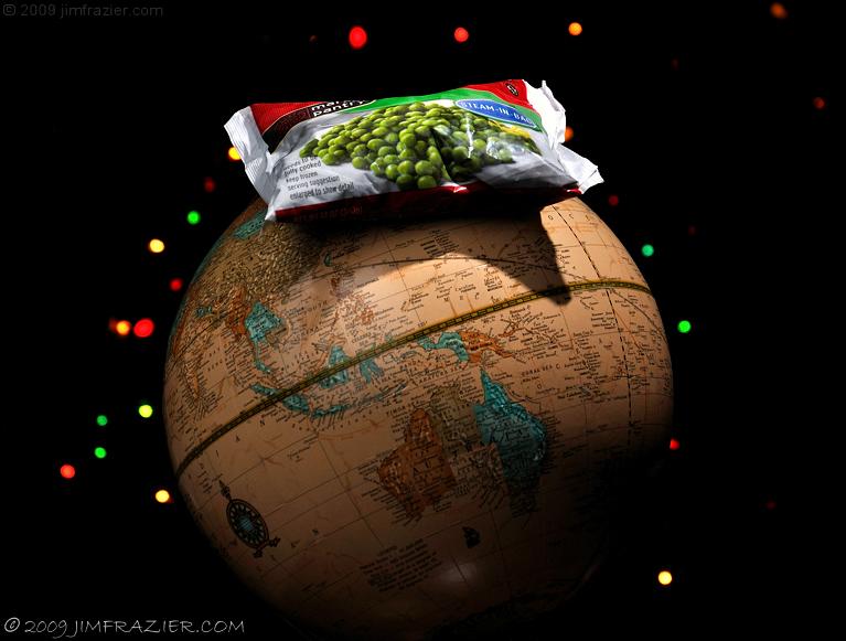 Peas on Earth...