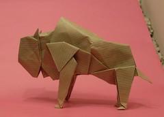Buffalo (or(EST)igami) Tags: buffalo origami kawahata