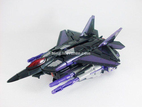 Transformers Skywarp RotF Voyager - modo alterno
