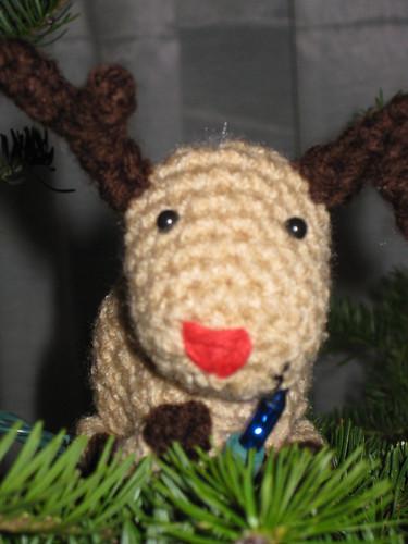 amigurumi reindeer!