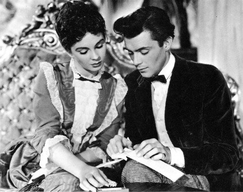 Jean Simmons and Dirk Bogarde in So Long at the Fair