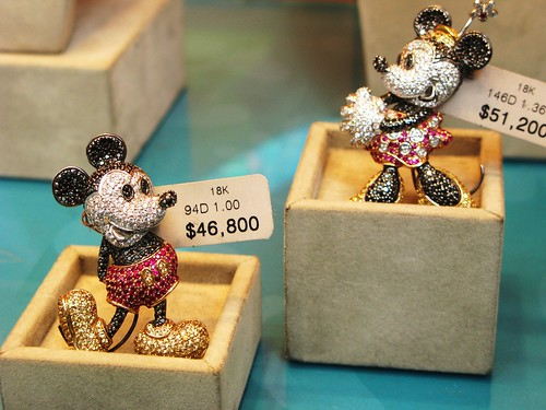 Mickey is about $6,000US
