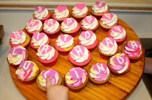 3rd Birthday Cupcakes