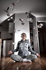 52 Pick Up! (MatsTorbergsen) Tags: portrait playing yoga photoshop cards nikon ace adobe manual f56 52 lightroom d80 strobistcom 1755f28 vivitar285hv