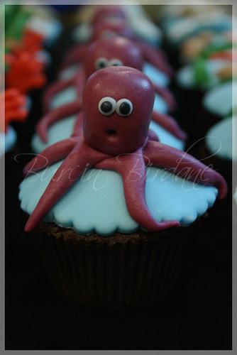 Cupcake Ahtapot