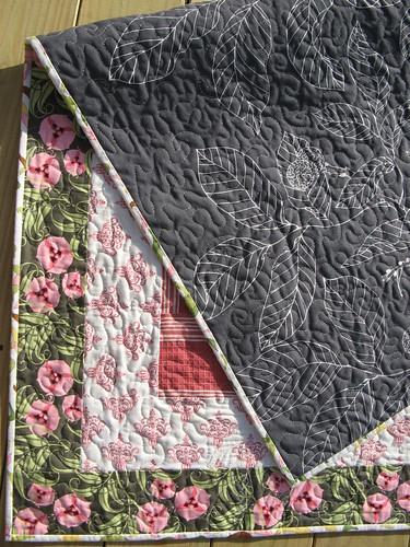Garden Fresh Quilt backing