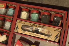 let's get radioactive (underwhelmer) Tags: brooklyn toys basement parkslope radioactive chemistryset chemcraft uraniumore spinthariscope