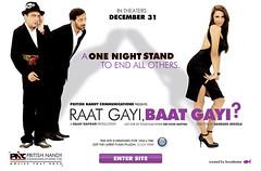 [Poster for Raat Gayi Baat Gayi]