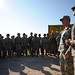 Lt. Gen. Caldwell briefs Afghan National Army (ANA) soldiers and coalition forces at an ANA camp