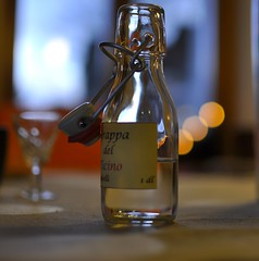 Grappa del Ticino (tradewinds>) Tags: light 35mm nikon dof wine bokeh balls f18 grape grappa liquer d90 travelsofhomerodyssey